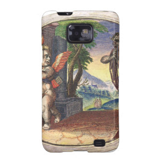Cupid fleeing from a demon; Emblemala amatoria; Galaxy S2 Covers