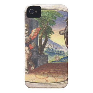 Cupid fleeing from a demon; Emblemala amatoria; Case-Mate iPhone 4 Case