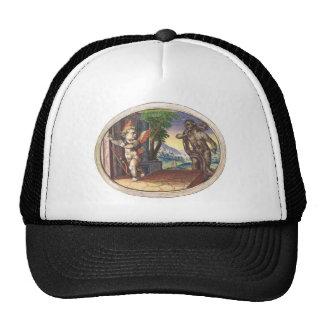 Cupid fleeing from a demon; Emblemala amatoria; Trucker Hat