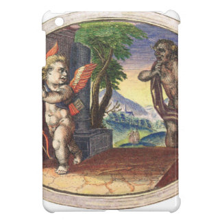 Cupid fleeing from a demon; Emblemala amatoria; Case For The iPad Mini