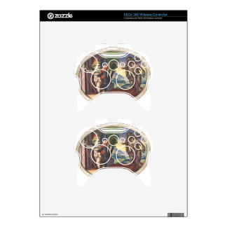 Cupid fleeing from a demon; Emblemala amatoria; Xbox 360 Controller Decal