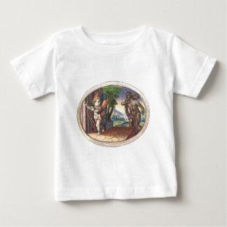 Cupid fleeing from a demon; Emblemala amatoria; Shirts