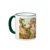Cupid Forget Me Not Valentine's Mug