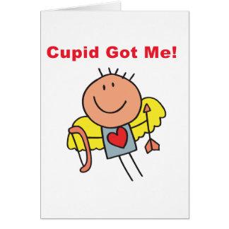 Cupid Got Me Card