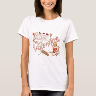 Cupid Heart Bow Arrow Mend T-Shirt