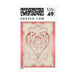 CUPID HEARTS & LACE by SHARON SHARPE Postage