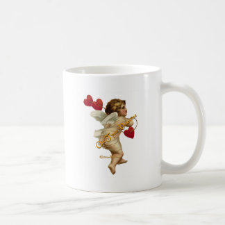 Cupid Hearts On a String Mug