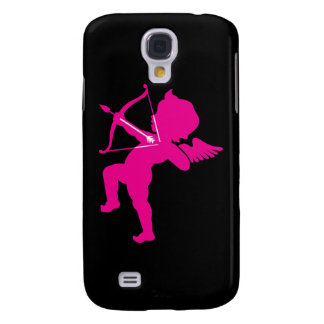 Cupid - Hot Pink Cupid s Bow and Arrow of Love Galaxy S4 Cover