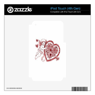 Cupid iPod Touch 4G Decal