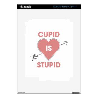 Cupid Is Stupid iPad 3 Decal