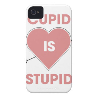 Cupid Is Stupid iPhone 4 Case-Mate Case