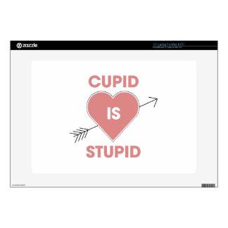 Cupid Is Stupid Laptop Decals