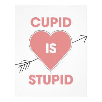 Cupid Is Stupid Letterhead