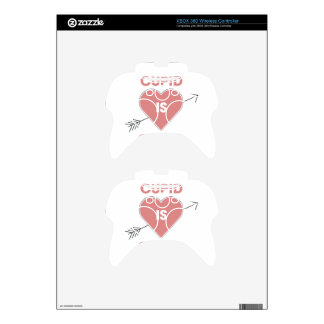 Cupid Is Stupid Xbox 360 Controller Skin