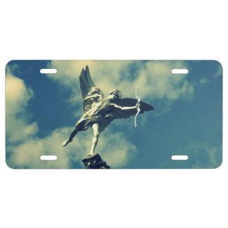 Cupid License Plate
