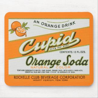 Cupid Orange Soda Mouse Pad