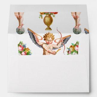 Cupid Pattern Envelope