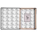 Cupid Pattern iPad Folio Cases