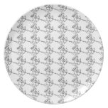 Cupid Pattern Party Plates