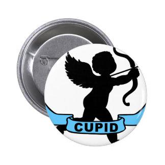 Cupid Pin Redondo De 2 Pulgadas