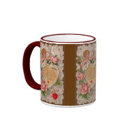 Cupid Poem Valentine's Mug