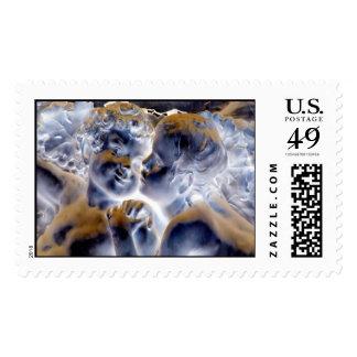 Cupid Postage Stamp