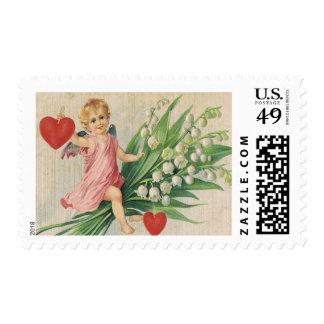 """Cupid Postage Stamp-Medium, 2.1"""" x 1.3"""", $0.47"""