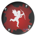 CUPID PRODUCTS PARTY PLATE