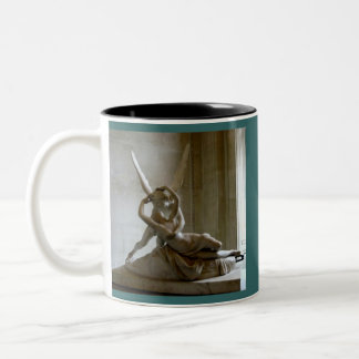 Cupid + Psyche Two-Tone Coffee Mug