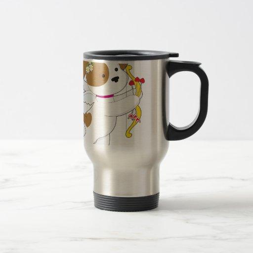 Cupid Puppy Mugs