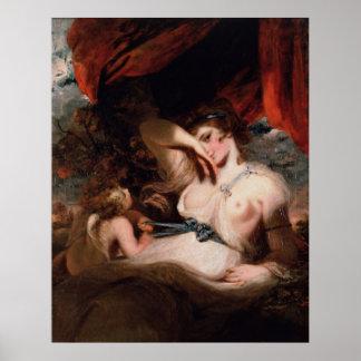 Cupid que desata la zona de Venus de Joshua Reynol Impresiones