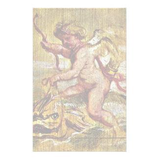 Cupid que monta un delfín de Rubens Peter Paul Papeleria De Diseño