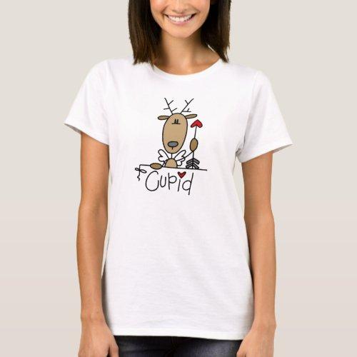 Cupid Reindeer Christmas Tshirts and Gifts