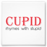 Cupid Rhymes with Stupid Photograph