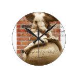 Cupid Round Wall Clocks