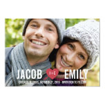 CUPID Save The Date Cards Custom Invite