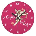 Cupid Sent Me - Valentine's Day Wall Clocks