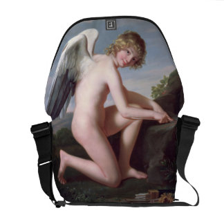 Cupid sharpening his arrows, 1798 (oil on canvas) courier bag