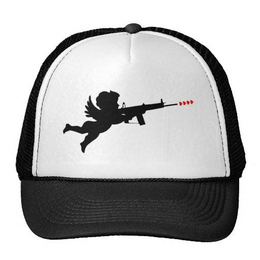 cupid shooting trucker hats