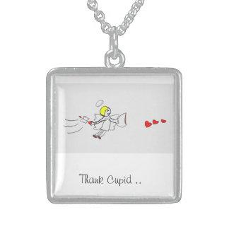 Cupid Silver Necklace