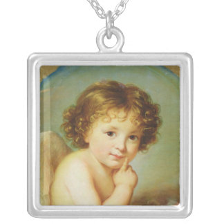 Cupid Silver Plated Necklace