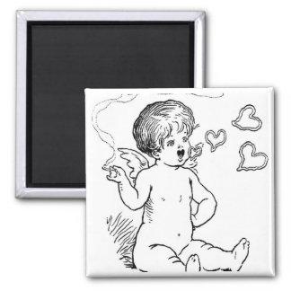 Cupid Smoking Giftware Refrigerator Magnet