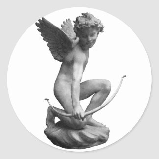 Cupid Statue Giftware Stickers