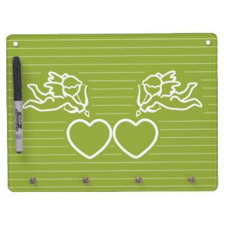 CUPID STRIKES custom dry erase board