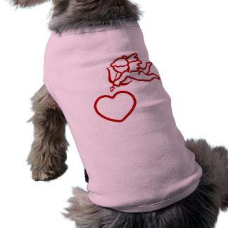 Cupid Strikes custom pet clothing
