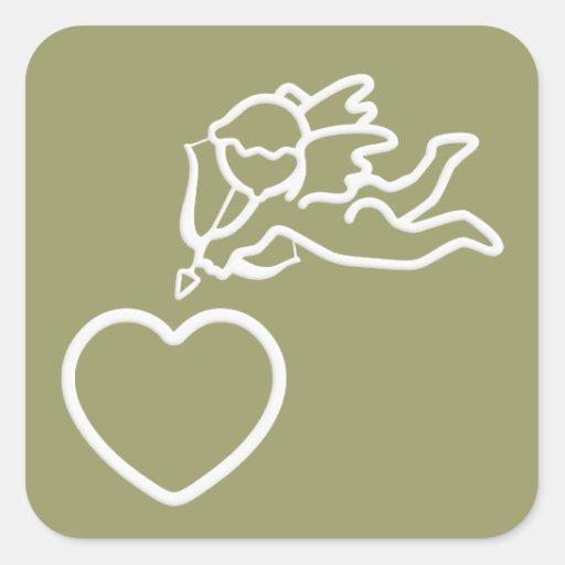 Cupid Strikes custom stickers