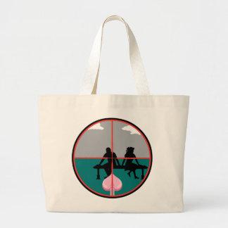 Cupid Target Canvas Bag