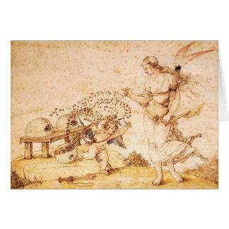 Cupid the Honey Thief Card