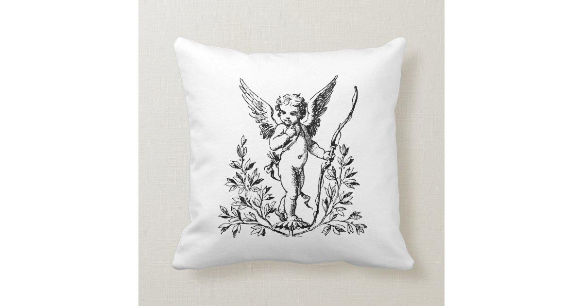 Throw Pillows 20 X 20 : Cupid Throw Pillow 20