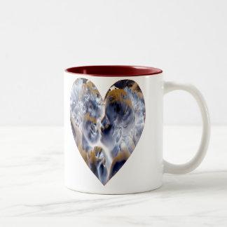 Cupid TShirt Two-Tone Coffee Mug